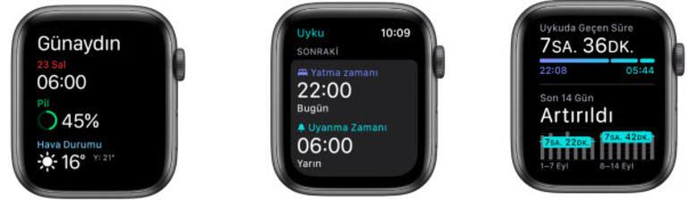 Apple sağlıklı uyumanıza ve sağlıklı yaşamanıza destek oluyor